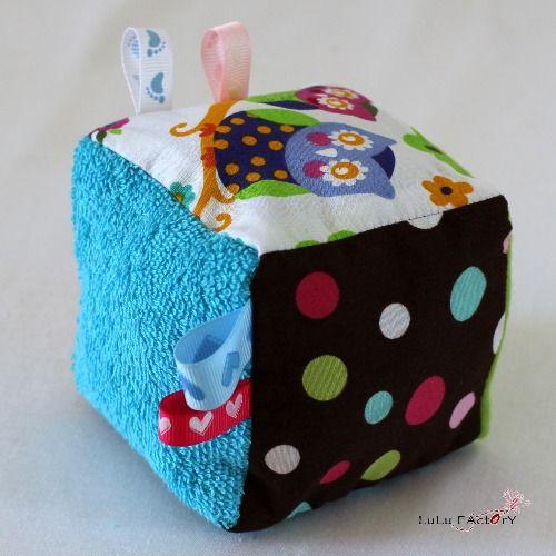 DIY - Couture : Réalisez un cube d'éveil