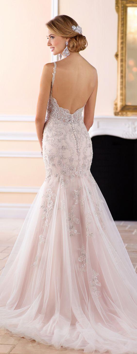 124 besten Brautkleider 2018 Bilder auf Pinterest | Hochzeitskleider ...