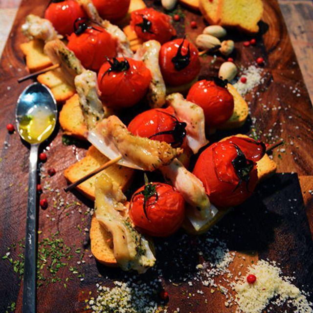 炉端定番 焼き鳥だってイタリアンハーブミックスでパーティーメニューに変身 イタリアンなヤゲンの軟骨   - スパイス大使 - ジャパニーズピンチョス
