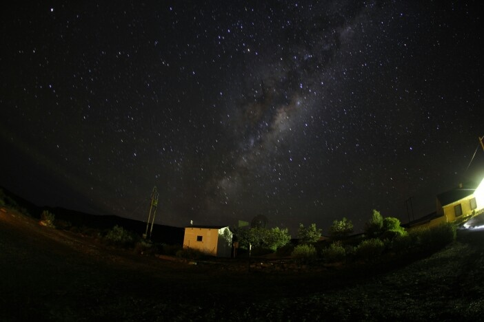 The MilkyWay Galaxy. Sutherland, South Africa