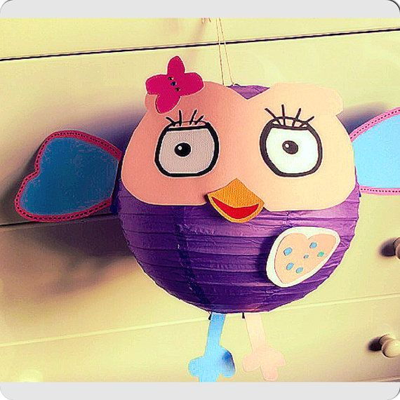 Hootabelle Giggle and Hoot Lantern Birthday Party by MyTulip