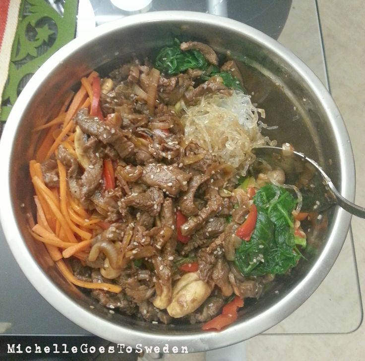 ICA glass noodles, #How to cook Japchae, #Japchae homemade, #japchae korean