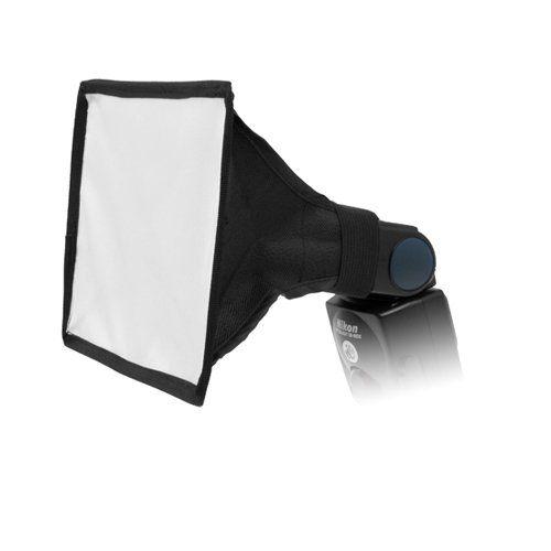 "Fotodiox 6""x8"" Softbox for Nikon Flash, Canon Speedlight, for Nikon SB-600, SB-800, SB-900 Flash, Canon Speedlite 380EX, 430EX, 430EX II, 550EX, 580EX, 580EX II, Vivita Flash, Sunpack, Nissin,Sigma, Sony, Pentax, Olympus, Panasonica Lumix Flashes"