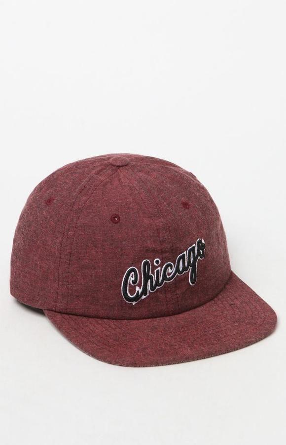 Mitchell & Ness Chicago Bulls Melange Strapback Hat