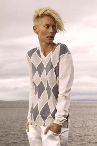 Hair Wars: Did Tilda Swinton Swipe Kate Lanphear's Platinum Swoop?