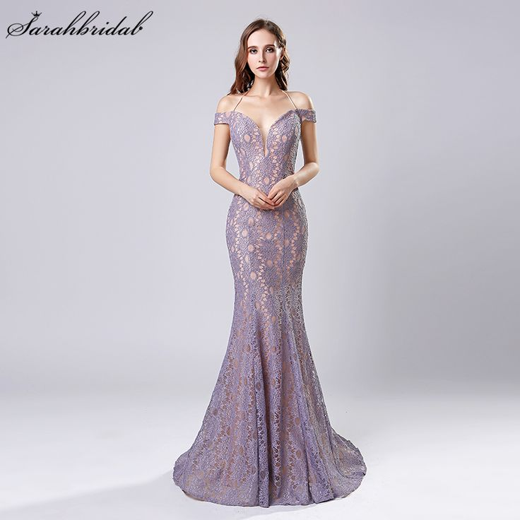 Find More Evening Dresses Information about Robe De Soiree 2018 New Arrivals Mermaid Dubai Long Evening Dresses Lilac/Black/Red Whole Halter Whole Lace Prom Dresses LSX575,High Quality dubai long evening dresses,China evening dress Suppliers, Cheap long evening dress from Sarahbridal on Aliexpress.com