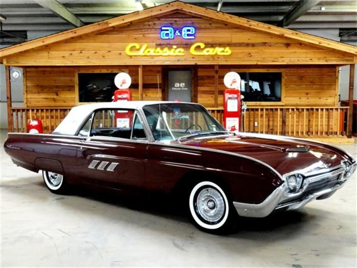 Ford Thunderbird - Dad's was all white and I'm not sure if this is the exact year but it's close.
