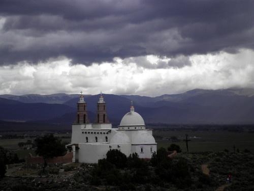 San Luis, Colorado. La Capilla de Todos Los Santos (The Chapel of All Saints)
