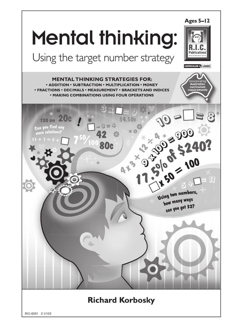 #ClippedOnIssuu from Mental Thinking: Using the Target Number Strategy