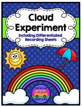 CLOUD EXPERIMENT - Make it rain - recording sheets (scheduled via http://www.tailwindapp.com?utm_source=pinterest&utm_medium=twpin&utm_content=post184521853&utm_campaign=scheduler_attribution)