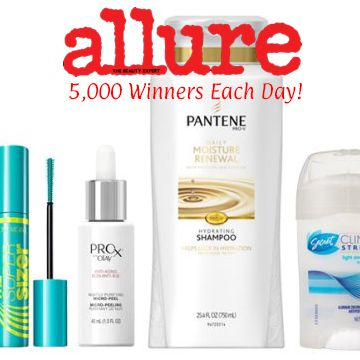 Allure is back with a month full of full-sized freebies for October! Each giveaway will go live at 12 PM EST. Be sure to register before the giveaway and log in prior as these usually go quick! 5,000 Allure readers who enter between 12 PM ET and 1 PM ET will win the item each …