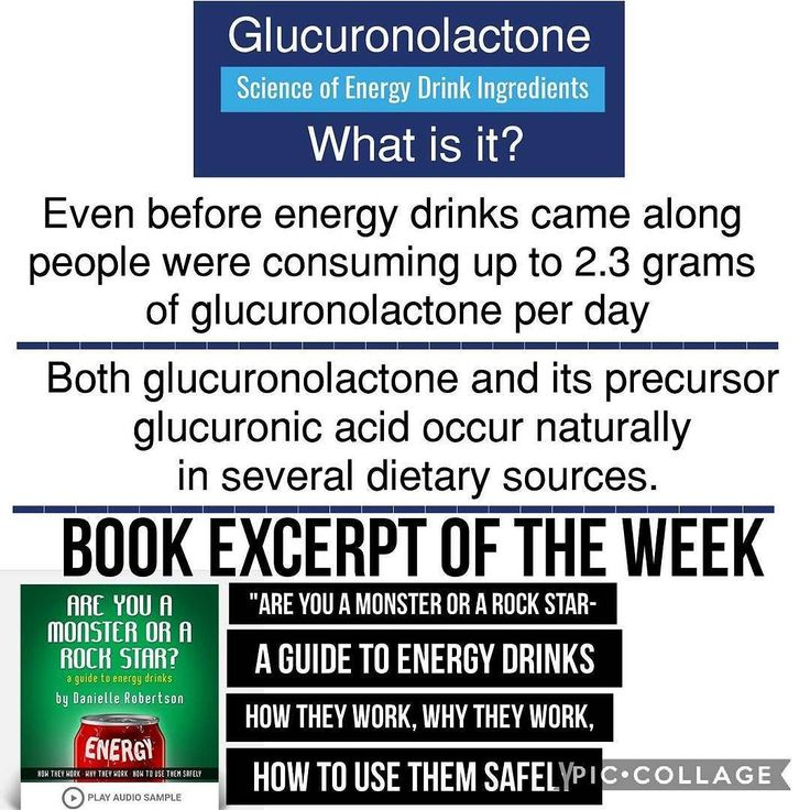 Caffeine taurine carnitine and glucuronolactone are traditional energy drink ingredients. But what is this glucuronolactone exactly? Glucuronolactone is an alter ego of glucuronic acid which is glucose that's been oxidized or modified to hold an extra oxygen atom. It's not uncommon for simple sugars like glucose to go through small transformation like redox reactions. And it's these kind of reactions that transform glucose to glucuronic acid. In the body glucuronic acid is in equilibrium…