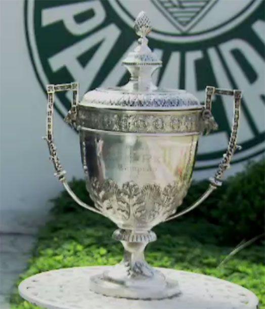Primeiro campeão mundial, Palmeiras faz ação em comemoração à conquista da Copa Rio de 1951 #globoesporte