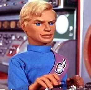 john Tracey / voiced by Ray Barrett / Thunderbirds tv show 1965-66