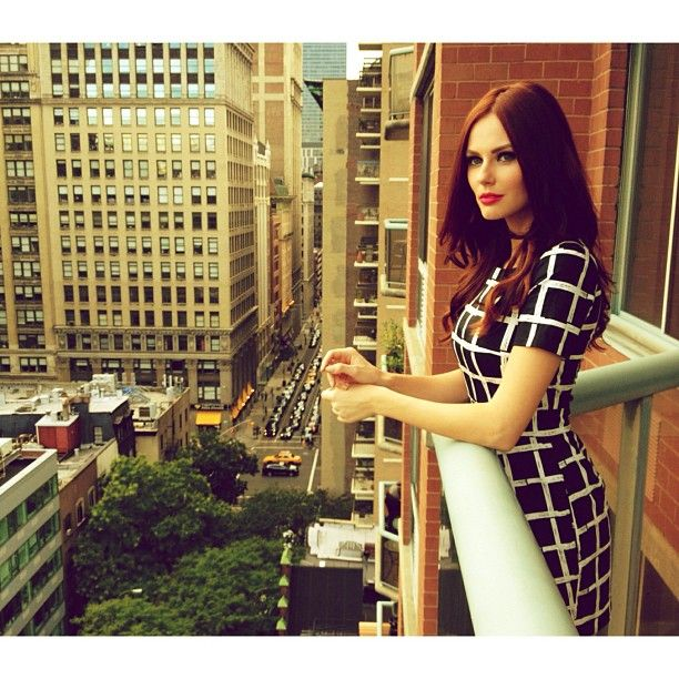.@Alyssa Campanella | Are you ready for tonight, NYC? Photo by @torrancecoombs. #NYFW | Webstagram