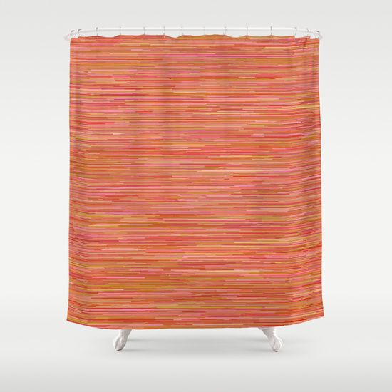1000 images about tangerine shower curtain tangerine for Tangerine bathroom ideas