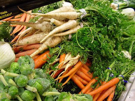 "BLOG: ""Don't let winter beat up your immune system!""  Stay in season – No i'm not talking about the lastest handbag ladies, I'm talking about root vegetables"