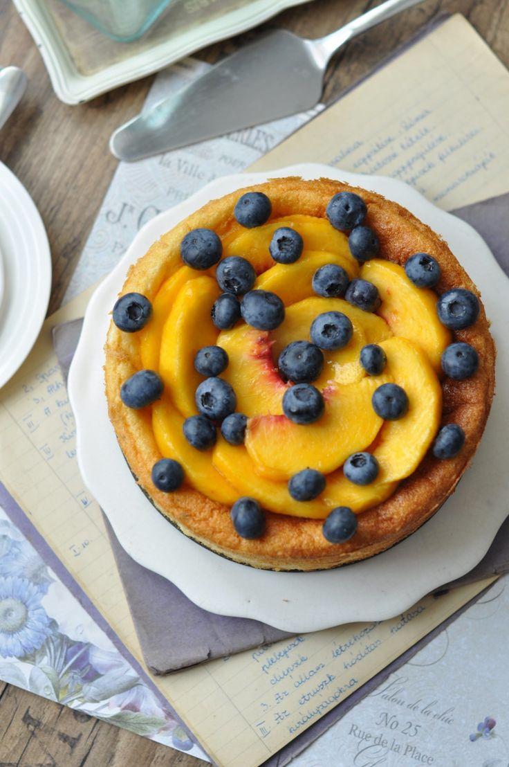 Gyümölcsös sült joghurttorta   Csak a Puffin #cake #fruits