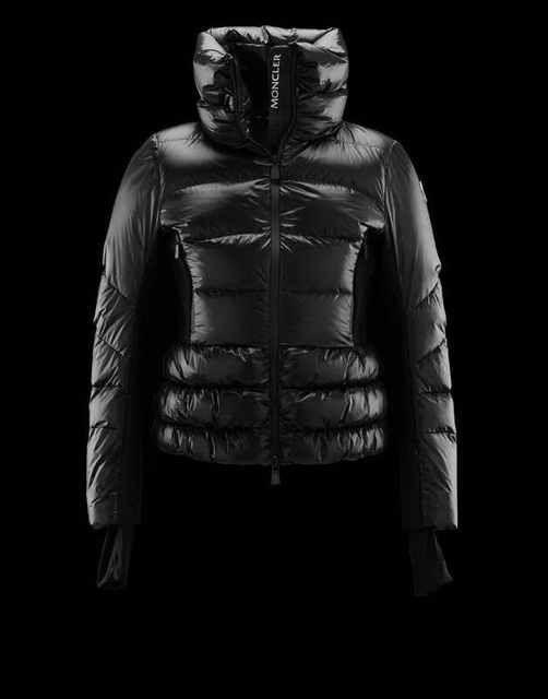 Women Moncler Jacket Grenoble Salla Black discount online