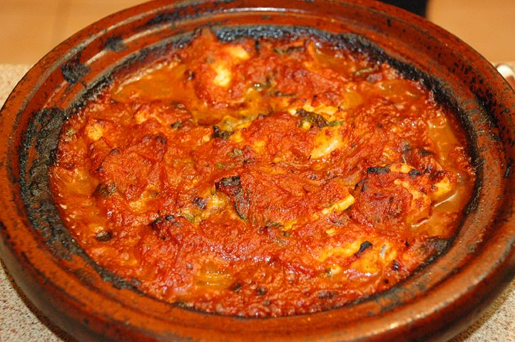 Fish Tagine.  Looks delicious but it says to cook for 40-45 minutes!  Do I dare cook fish for that long???