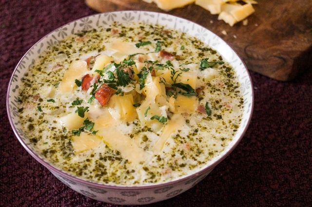 gotować! - Zupa ziemniaczana z pesto