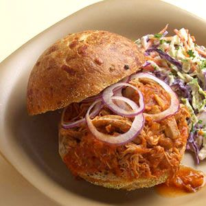#Slowcooker #supper, summer-style: BBQ Pulled Chicken @ womansday.com