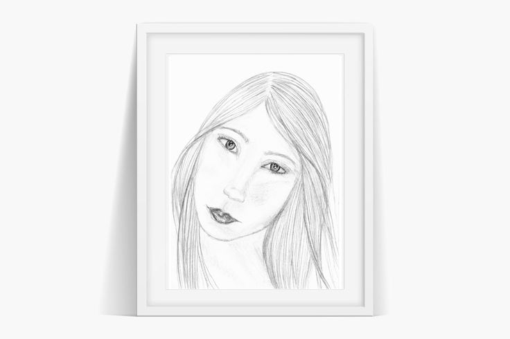 Audrey Art Instant Download . Original art by Sian Whitehall. Instant Download Now!