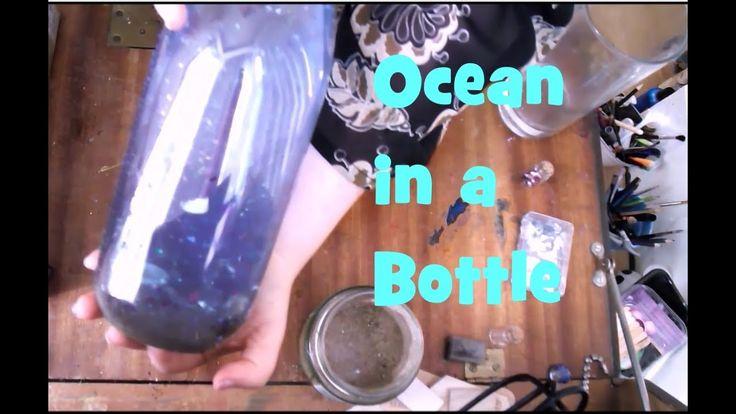 Ocean In A Bottle Tutorial