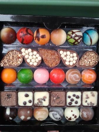 Karmello Chocolatier: Praline miste mmmmh !!!