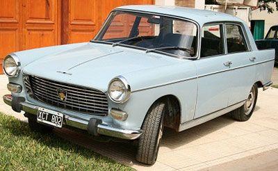 Car Peugeot 404 1971