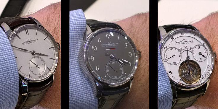 Moritz Grossman es una marca de alta relojería alemana nacida en 2008 y que recupera el nombre de un relojero históricamente importante, Carl Moritz Grossmann. Y aquí vamos a repasar tres de los cu...