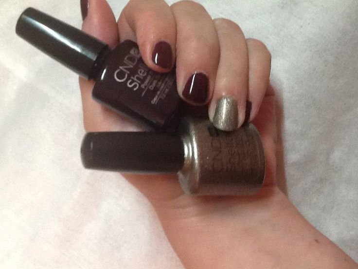 CND Shellac Dark Dahlia and Steel Glaze - new fall colors!Nails Art, Cnd Shellac Fall Colors, Colors 2013, Nails Ideas, Nails Cnd, Nails Polish, Hair Nails, Pretty, Dark Dahlias