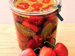 Pickled Peppadews   http://www.iol.co.za/the-star/pickle-your-peppadews-today-1.1496547#.Uvrfz6a9LCR