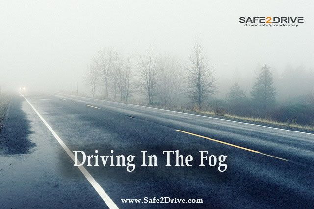 10 Tips for Driving in the Fog Fog can create extremely dangerous driving conditions that can come upon you quickly without warning. Fog is a cloud covering the ground formed when warm moist air mixes with cold air causing visibility to drop in a matter of minutes. If you must continue driving through the fog, keep these driving safety tips in mind:
