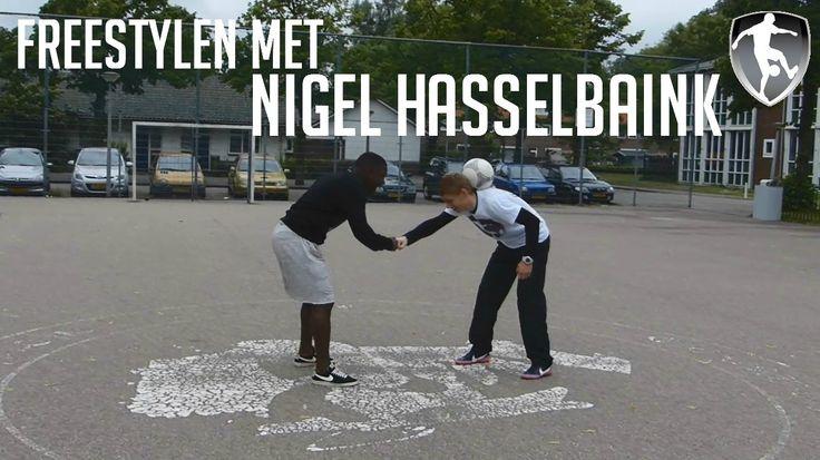 Leer Freestyle Voetbal: Freestylen met Nigel Hasselbaink