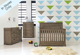 Check out our HGTV Grayson Collection @Anne BABY shown here in dusk but, also available in midnight! Fresh style convertible crib only $699! http://www.buybuybaby.com/store/static/hgtvhome