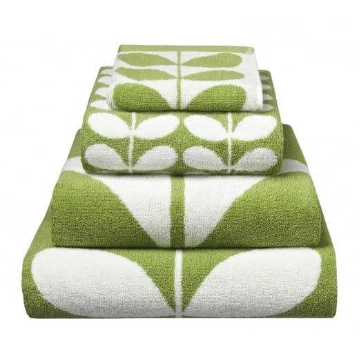 Orla Kiely Linear Stem Apple Towels