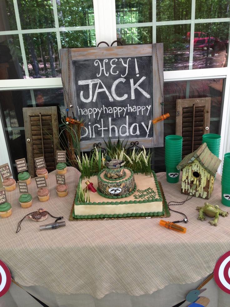 Duck dynasty / duck commander birthday party