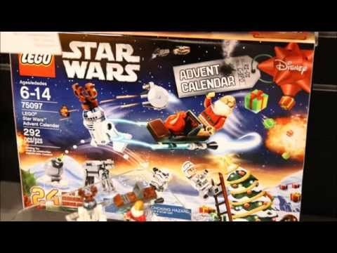 lego star wars 2015 advent calendar analysis hd youtube