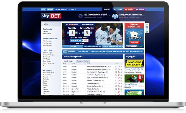 Sky Website