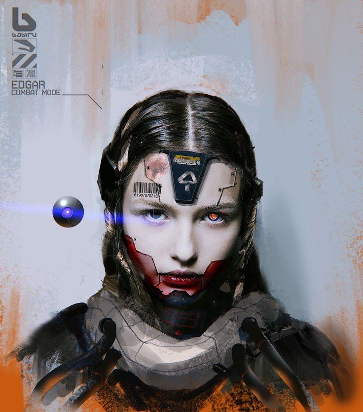 398 Best Images About Sci-fi/Cyberpunk/Art On Pinterest