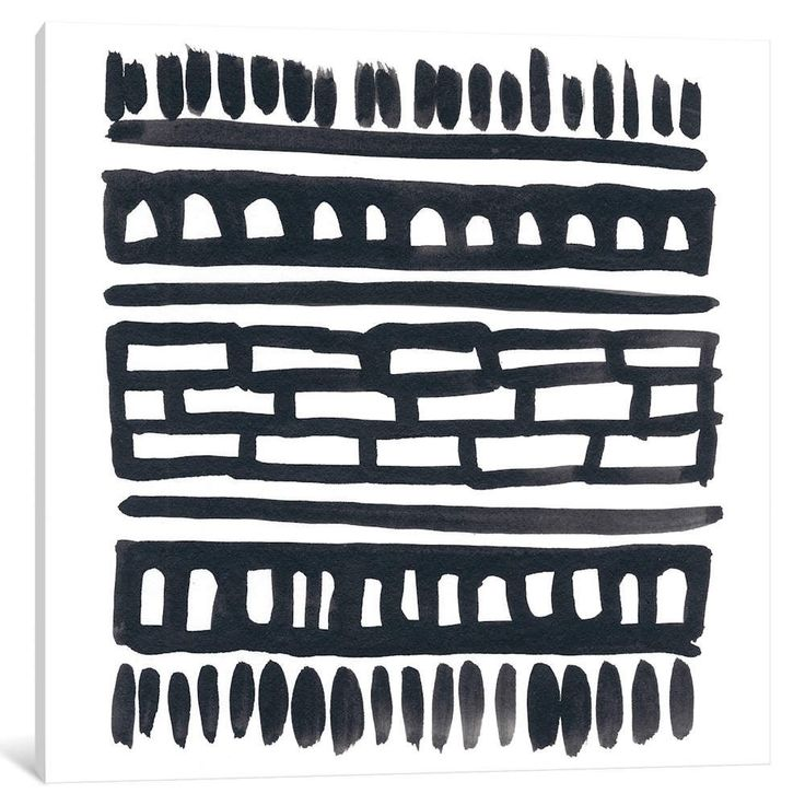 "iCanvas ""Weft III"" by June Erica Vess Canvas Print…"