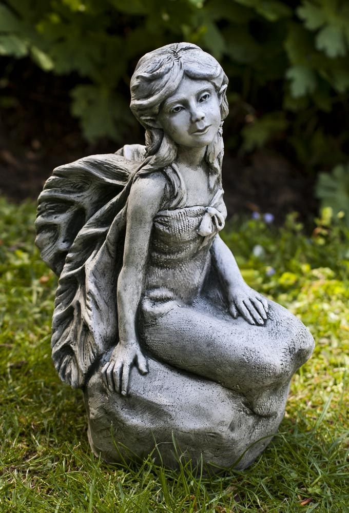 Garden Statue Fairy: 28 Best Gnome And Fairy Gardens Images On Pinterest