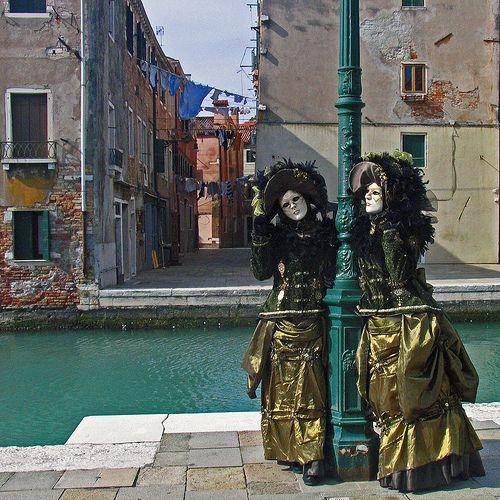 venezia - maschere castello