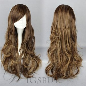 Cosplay Wigs; fashion wigs; wigs style                                                                                                                                                                                 Mais