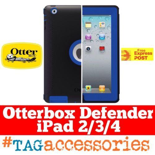 Nov 2014 Blue-Black-Otterbox-iPad-2-iPad-3-iPad-4-Case-Genuine-Blue-Otterbox-Case