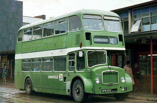 Crosville Bus Wrexham