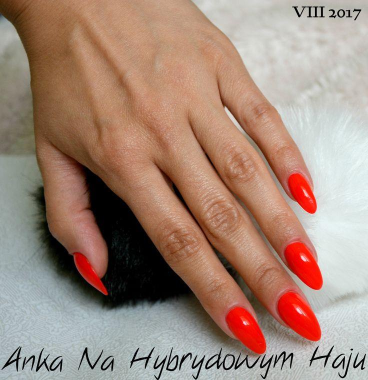 https://www.facebook.com/AnkaNaHybrydowymHaju/  #paznokcie #pazurki #manicure #hybrydy #AnkaNaHybrydowymHaju #Nails   #czerwony #czerwone #czerwień #czerwonepaznokcie #red #rednails