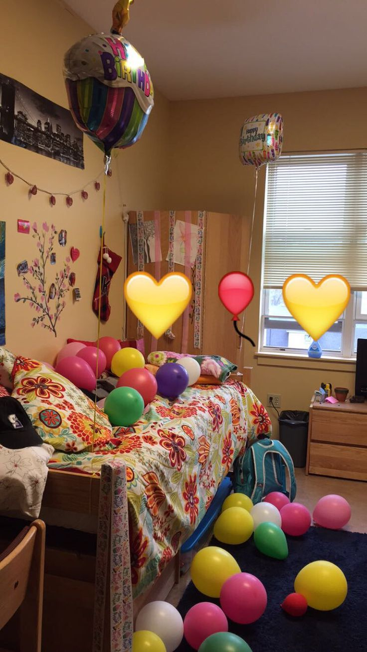 20th Birthday Dorm Room Decoration Surprise! Part 3