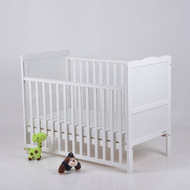 Bebehut Dropside Cot Baby Bed With Free Mattress Teething Rails (White): Amazon.co.uk: Baby perfect!##  120 x 60 £99 with delivery